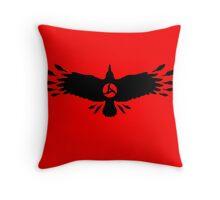 Magenkyou Crow Throw Pillow