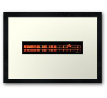 BoxArrange306 Framed Print