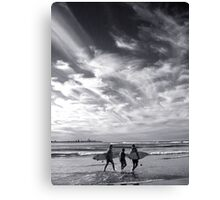 Gold Coast Icons Canvas Print