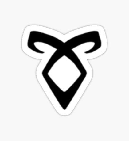 Shadowhunters' Angelic Rune (black) Sticker