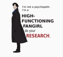 High Functioning Fangirl Kids Clothes