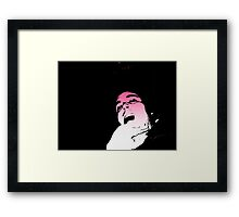 hideing the ugly Framed Print