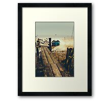 Crooked fisherman Framed Print