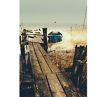 Crooked fisherman Photographic Print