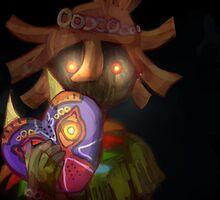 skull kid (loz majoras mask) by dekuscrubbing