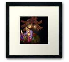 skull kid (loz majoras mask) Framed Print