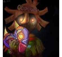 skull kid (loz majoras mask) Photographic Print