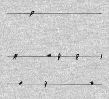 Birds One Piece - Long Sleeve