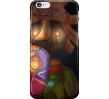 skull kid (loz majoras mask) iPhone Case/Skin