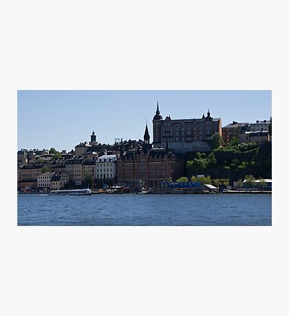 Stockholm by Water Photographic Print