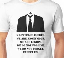 Anonymous. Unisex T-Shirt