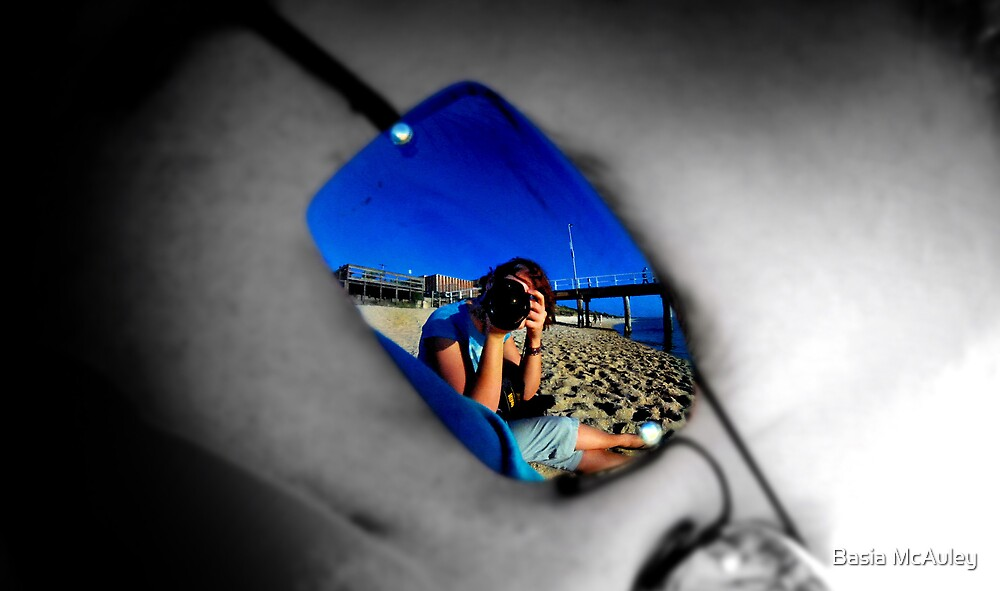 Reflections of me... by Basia McAuley