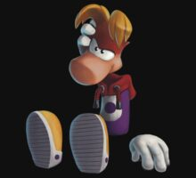 Rayman (Without Shadows) - Transparent by Cyberbob