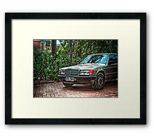 Old Mercedes Framed Print