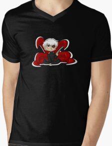 shirokane Mens V-Neck T-Shirt