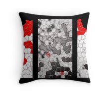 Snake Skin Comp. Throw Pillow