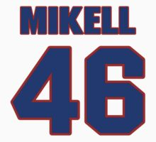 National football player Quintin Mikell jersey 46 by imsport