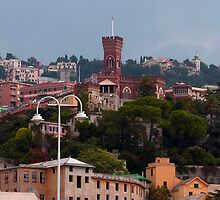 Genoa skyline by Tom Gomez