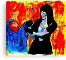 """""""Tough Lady"""" Canvas Print"""