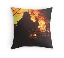 Wicca Man Throw Pillow