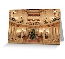 Christmas in the Rotunda Greeting Card