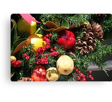 Dressed in holiday style Canvas Print