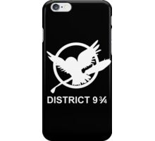 district 9 3/4 iPhone Case/Skin