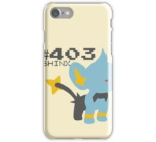 SHINX! POKEMON iPhone Case/Skin