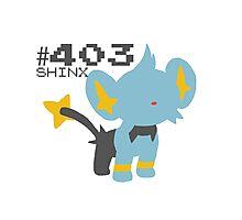 SHINX! POKEMON Photographic Print