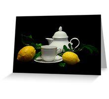 Tea Time! Greeting Card