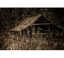 Old shed, Wooragee, Australia. Photographic Print