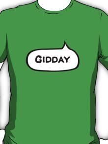 Australian Slang-Gidday T-Shirt