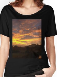 Red Sky Morning Women's Relaxed Fit T-Shirt
