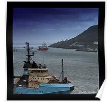 St. Johns Harbor , Newfoundland . Canada Poster