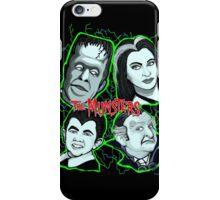 munsters portrait iPhone Case/Skin