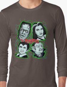 munsters portrait Long Sleeve T-Shirt