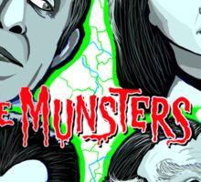 munsters portrait Sticker