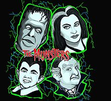 munsters portrait by gjnilespop
