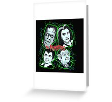 munsters portrait Greeting Card