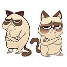 Grumpy Cats by jonenglish
