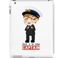 captain crieff crying iPad Case/Skin