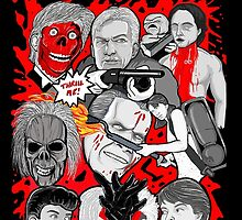 night of the creeps collage by gjnilespop