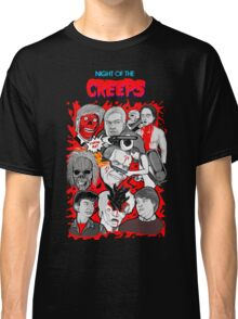 night of the creeps collage Classic T-Shirt