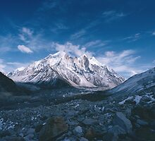 Bhagirathi Parbat from the Gangotri Glacier by HelenB