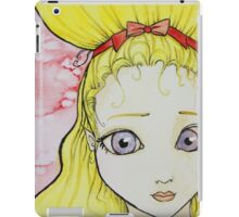 Blonde Girl Watercolor iPad Case/Skin