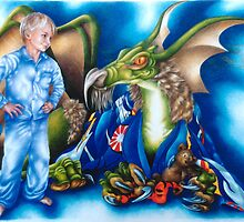 Alex and the Dragon by Liesl Yvette Wilson