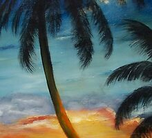 """""""Moody Blues Sunset"""" by Susan Dehlinger"""
