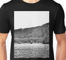 Bridge over water  Unisex T-Shirt