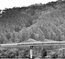Bridge over water  Sticker