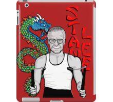 """stan """"the dragon"""" lee iPad Case/Skin"""
